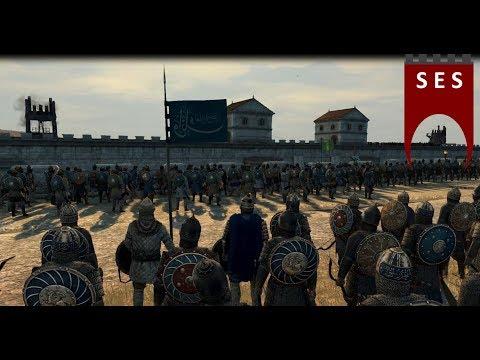 Crusader siege defense by the Sultanate of Rum - Medieval Kingdoms 1212 AD