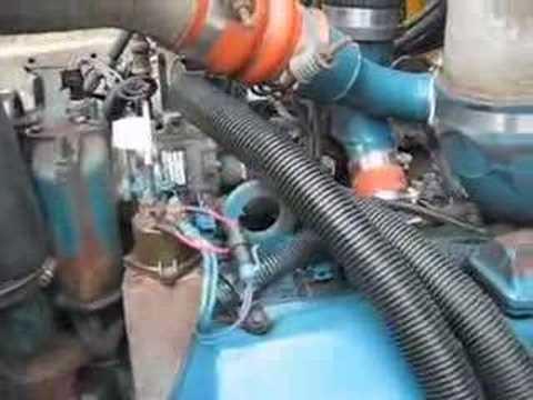 73L Powerstroke Diesel Engine Starts(T444E International)  YouTube