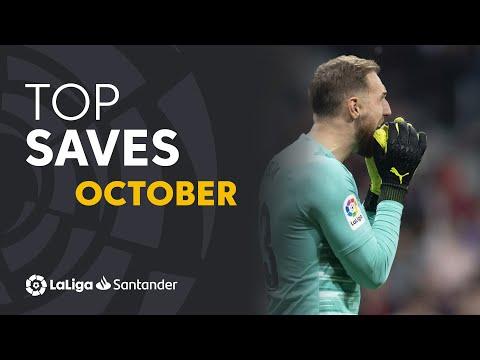 TOP Paradas Octubre LaLiga Santander 2019/2020