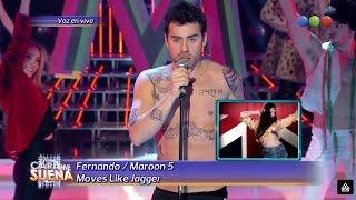 Fer Dente es Maroon 5 - Tu Cara Me Suena 2014