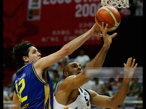 Brazil vs Germany 2006 FIBA Stanković Continental Champions