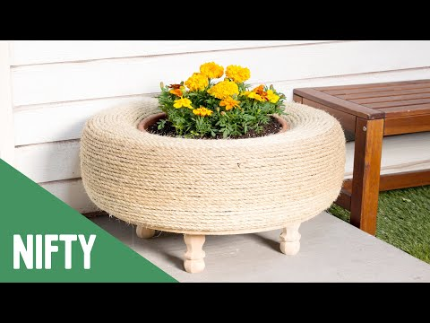 3 Ways To Upcycle Old Tires