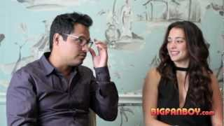 END OF WATCH Michael Peña and Natalie Martinez interview clip - Dallas press tour