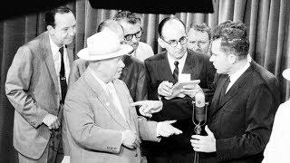 Кухонная битва: идеологический спор Хрущёва и Никсона на выставке в Москве