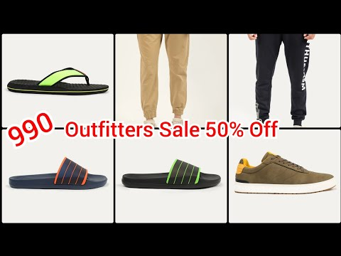 outfitters-sale-upto-50%-off-on-men's,slipper's,jean's,trousers-,shorts