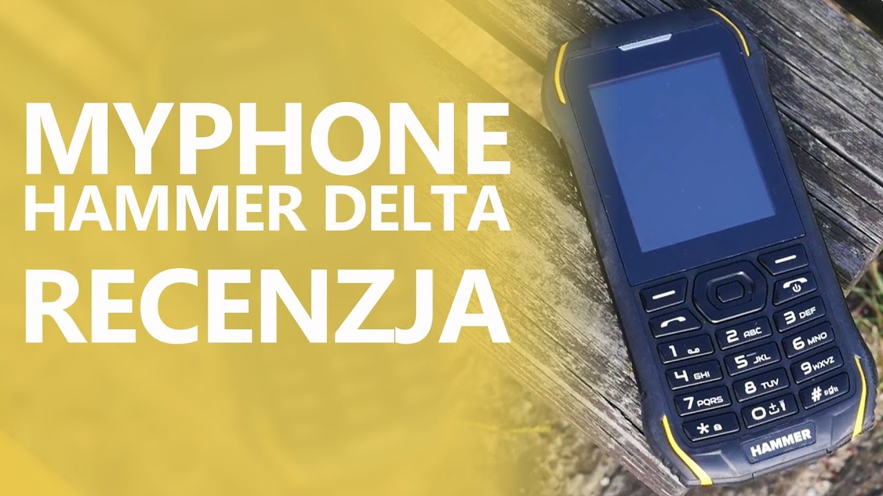 myPhone Hammer Delta – Recenzja Odpornego Klawiszowca