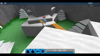 ROBLOX-FE2 Map Test:Snowy Mountains(Easy)(Solo)/Speedrun