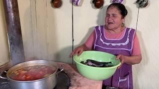 Caldo de Pescado SABROSO De Mi Rancho A Tu Cocina