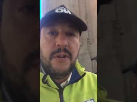 Milaistan, Salvini in live da Facebook dalla stazione centrale di MIlano