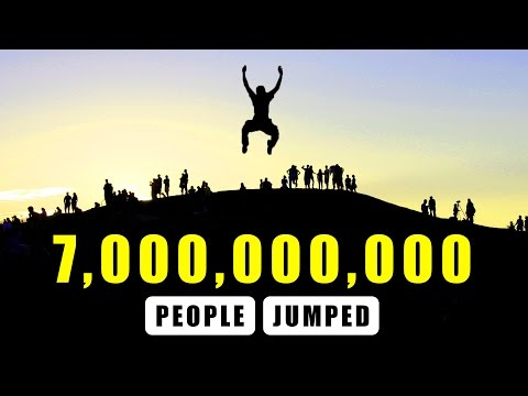 Thumbnail: What If 7,000,000,000 People Jumped At Once?