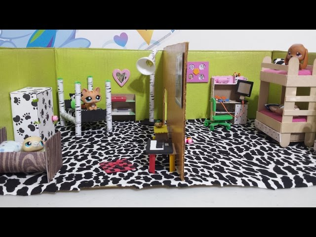 easy dy tssue paper art room decor socraftastc.htm how to make lps dollhouse bedrooms doll diy youtube  lps dollhouse bedrooms doll diy