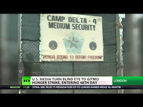 Blackout TV US media turn blind eye to Gitmo hunger strike