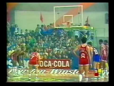 CAI Zaragoza-F.C. Barcelona Final Copa del Rey baloncesto 1984