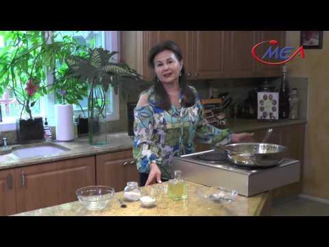 samira's kitchen # 190 Habeet ( lamb stew ) هبيط Kunafa with clotted cream كنافة بالكيمر