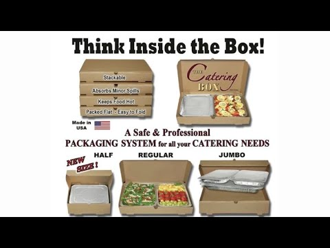 The Catering Box - Food Packaging Supplies, Creative
