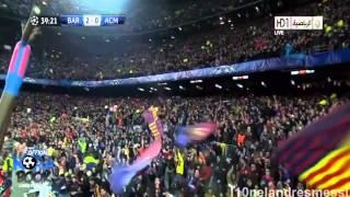 FC Barcelona vs AC Milan 4 0