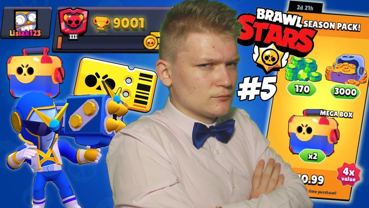KÚPIL SOM OFERKU A 2. BRAWL PASS!?! + 9000 TROFEJÍ! - Brawl Stars 2.0 #5 - [4K]