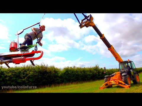 PulseJet, BMX, Rope, Crane = ColinFurze Jet-Swing