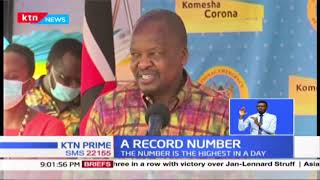 Kenya record 447 cases of COVID-19, highest number in a day