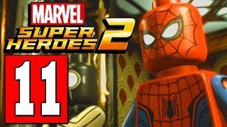 LEGO Marvel Super Heroes 2 Walkthrough Part 11 TAKE OUT KINGPIN BOSS