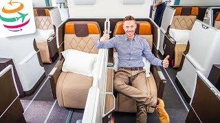 Oman Air NEUE Business Class im NAGELNEUEN Dreamliner 787-9 | GlobalTraveler.TV