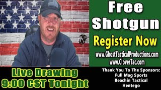 Ghost & Clover Christmas Sweepstakes LIVE Drawing of the Winner!