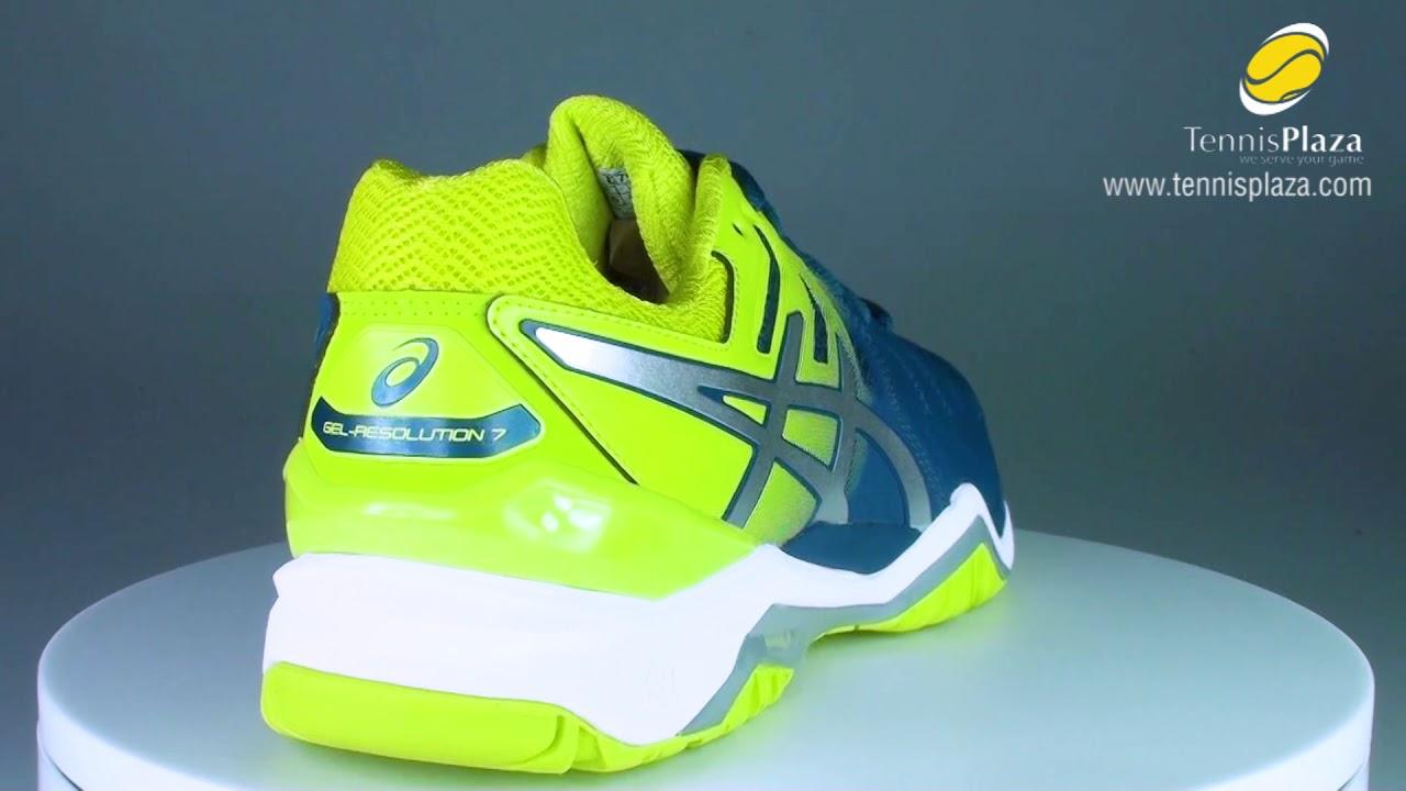 48798292d604 Asics Resolution 7 Tennis Shoe 3D View