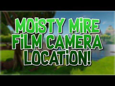 Fortnite Moisty Mire Film Camera Location!!