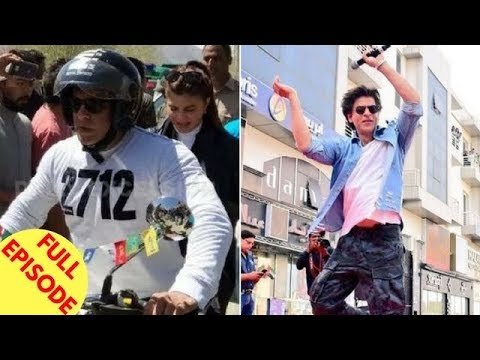 Salman Takes Jacqueline On A Bike Ride To Leh | SRK's Fans Go Crazy In UAE & More