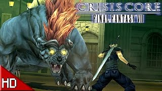 Final Fantasy VII: Crisis Core - PC Gameplay [1080p HD]