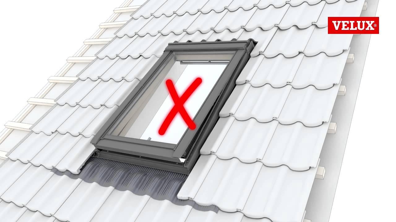velux gpl gpu roof window installation