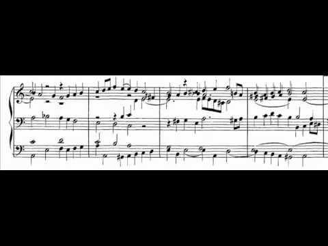 J.S. Bach - BWV 686 - Aus tiefer Not schrei' ich zu dir