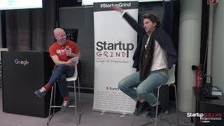Nilson Kufus (Nomoko) at Startup Grind Zurich w/ David Butler