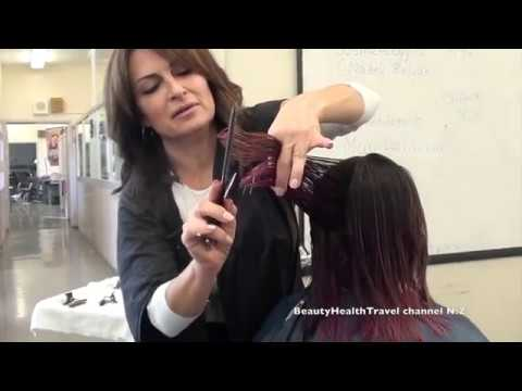 Haircutting class: layers: for beginners