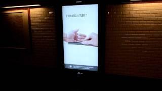 Устройство видео рекламы в метро(Отображение любого видео на специальном большом экране в человеческий рост, практически от пола до потолка..., 2012-01-07T12:01:27.000Z)
