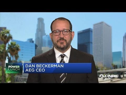 AEG CEO on growing live event economy