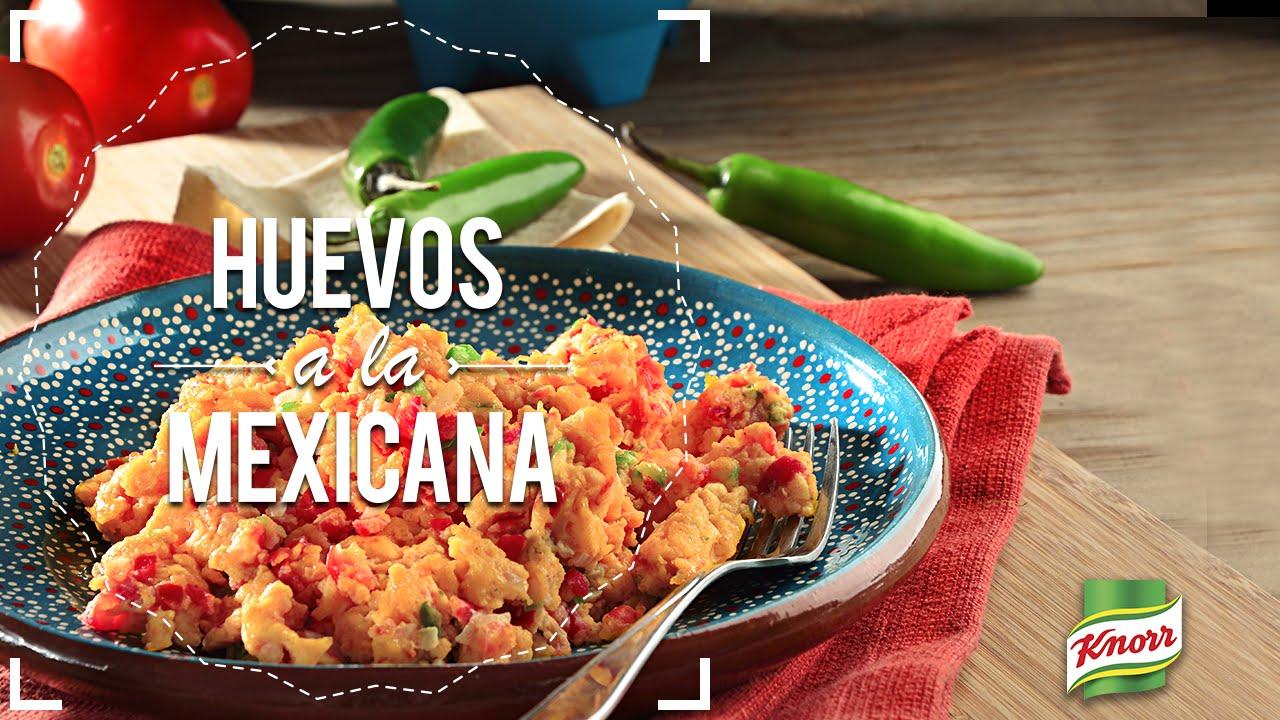 ¿Cómo hacer huevos a la mexicana? - YouTube
