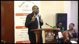 Dr. Willy Mutunga Farewell.Cyprian speech