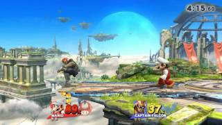 Super Smash Bros (Wii U) - Fireball kill?