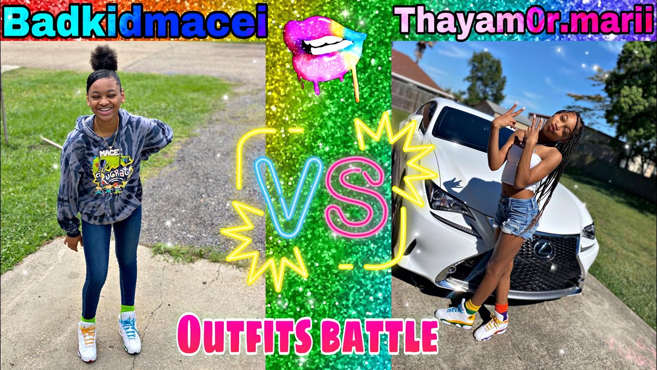 Badkidmaceii vs amarii(outfits battle) must watch 🔥