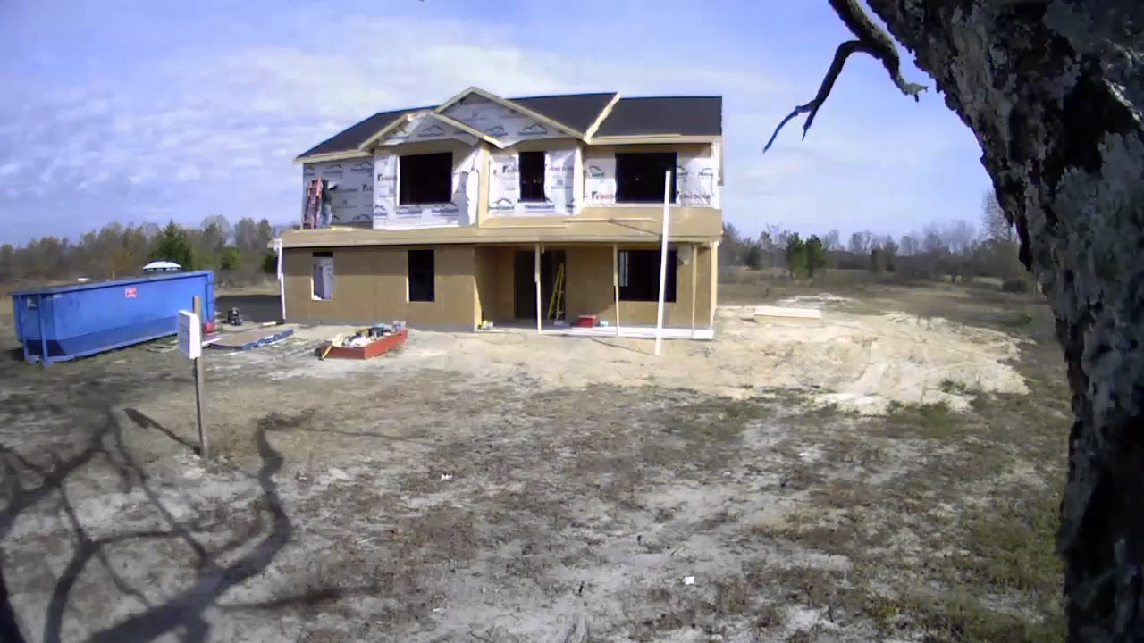 Custom Home Time Lapse | The Westover | Red Door Homes Of The Carolinas