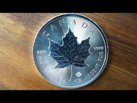 2017 1 oz Canadian Silver Maple Leaf Review