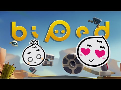 Biped Gameplay Part One // Cute Co-op Adventure Game |