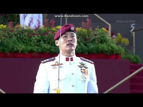 National Day Parade 2015 Commander