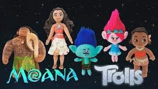 moana trolls finger family - trolls moana finger family song | daddy finger