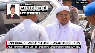 Dubes RI di Arab Saudi: Izin Tinggal Rizieq Shihab di Arab Saudi Habis