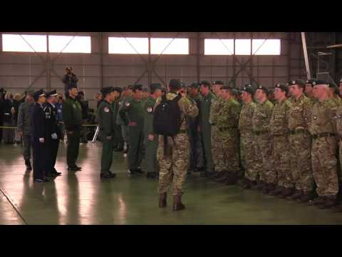 Royal Air Force and Japan Air Self-Defense Force Exercise