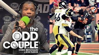 Chris Broussard & Rob Parker React to the Steelers-Browns Brawl