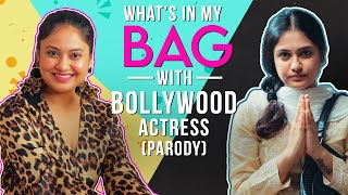 What's In My Bag? Ft. Bollywood Actress // Parody // Captain Nick