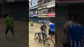 মৌলভীবাজার কুসুম বাগ বন্যা কবলিত এলাকা 2018